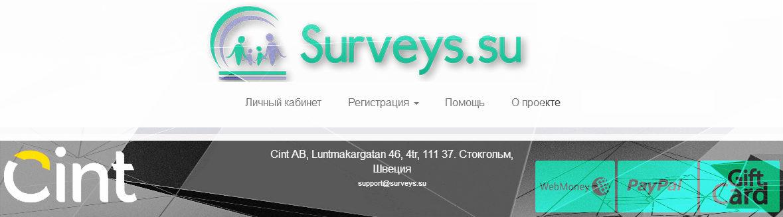 опросник из Швейцарии surveys.su