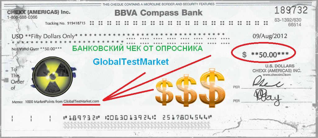 опросник GlobalTestMarket